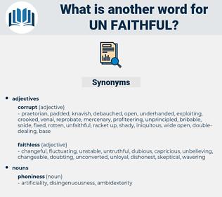 un-faithful, synonym un-faithful, another word for un-faithful, words like un-faithful, thesaurus un-faithful