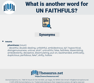 un faithfuls, synonym un faithfuls, another word for un faithfuls, words like un faithfuls, thesaurus un faithfuls