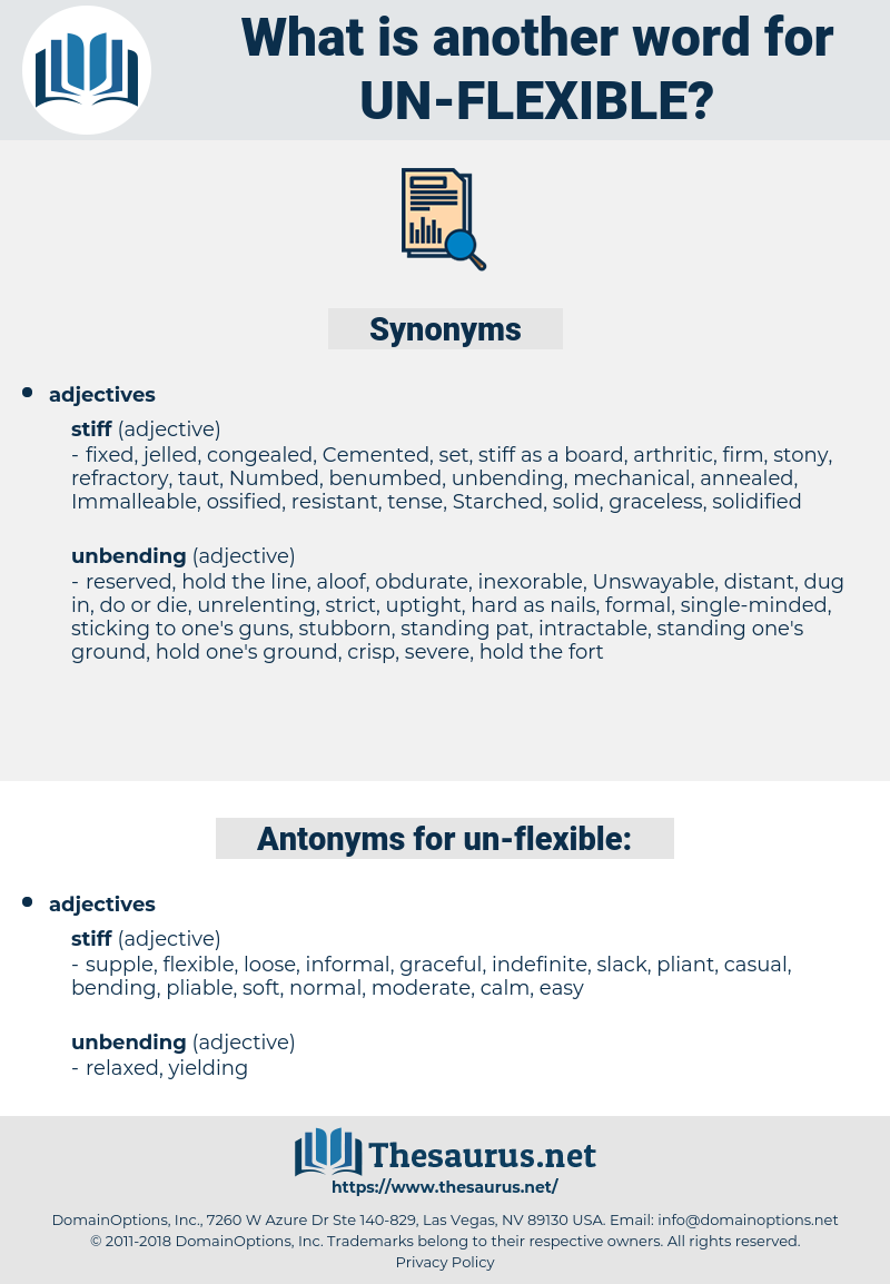 un flexible, synonym un flexible, another word for un flexible, words like un flexible, thesaurus un flexible