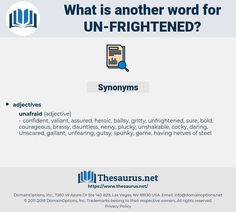 un frightened, synonym un frightened, another word for un frightened, words like un frightened, thesaurus un frightened