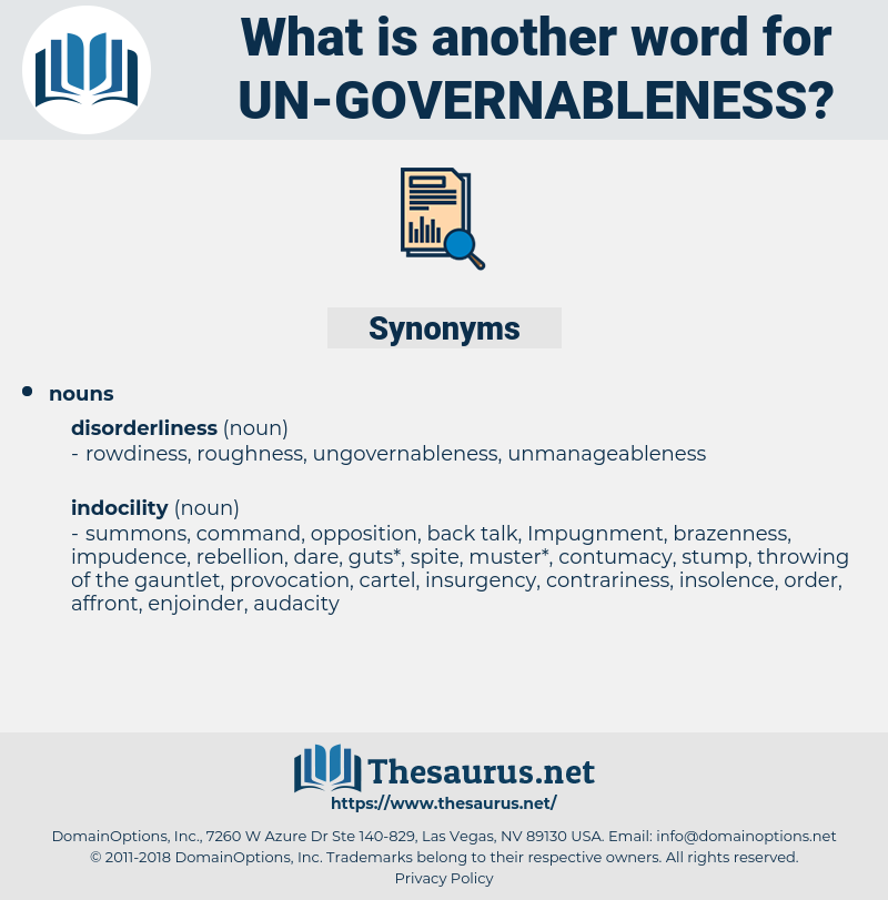 un-governableness, synonym un-governableness, another word for un-governableness, words like un-governableness, thesaurus un-governableness