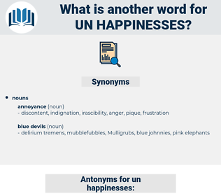un happinesses, synonym un happinesses, another word for un happinesses, words like un happinesses, thesaurus un happinesses