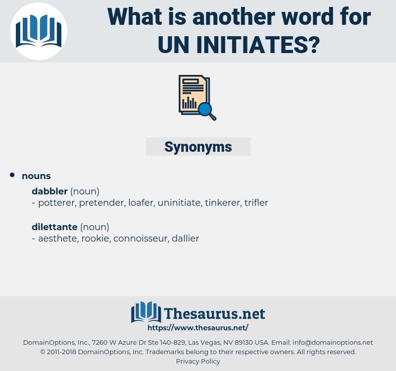 un-initiates, synonym un-initiates, another word for un-initiates, words like un-initiates, thesaurus un-initiates