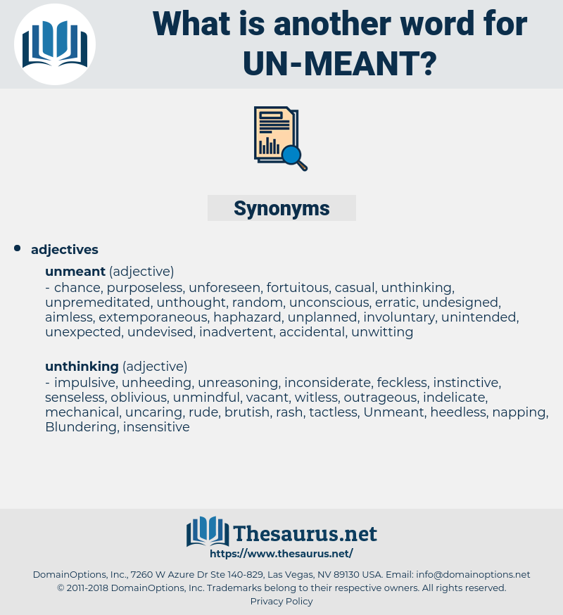 un meant, synonym un meant, another word for un meant, words like un meant, thesaurus un meant