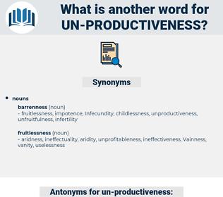 un productiveness, synonym un productiveness, another word for un productiveness, words like un productiveness, thesaurus un productiveness