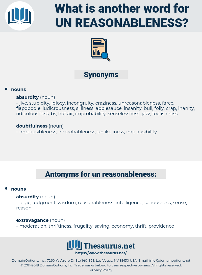 un reasonableness, synonym un reasonableness, another word for un reasonableness, words like un reasonableness, thesaurus un reasonableness