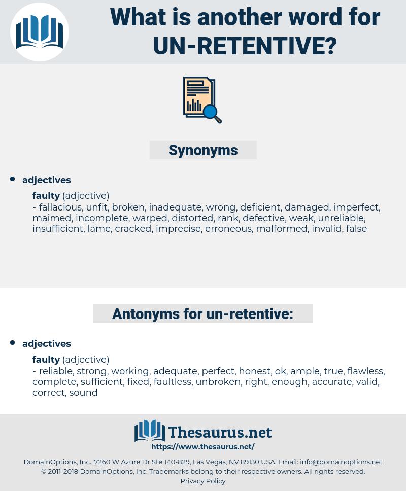 un retentive, synonym un retentive, another word for un retentive, words like un retentive, thesaurus un retentive