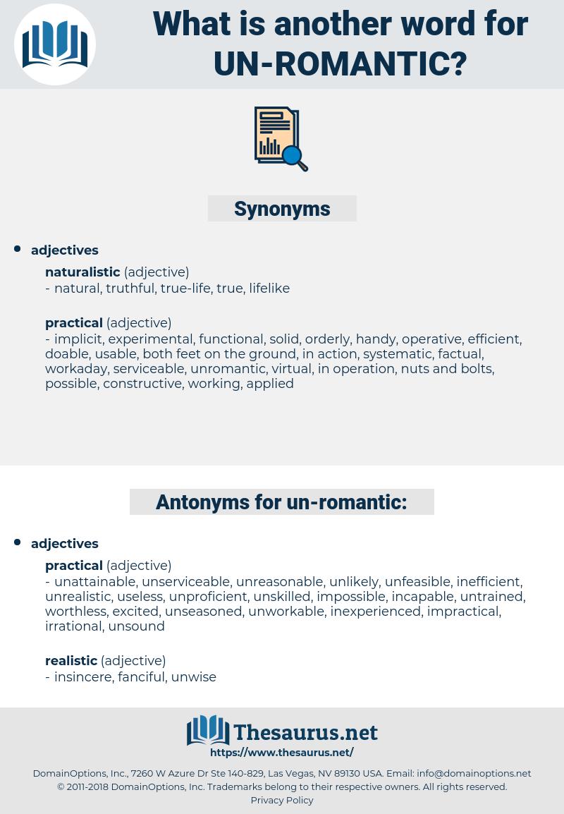 un romantic, synonym un romantic, another word for un romantic, words like un romantic, thesaurus un romantic