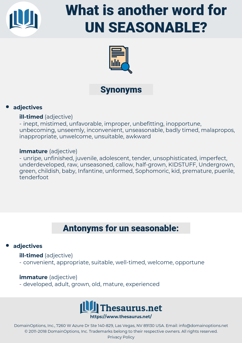 un-seasonable, synonym un-seasonable, another word for un-seasonable, words like un-seasonable, thesaurus un-seasonable