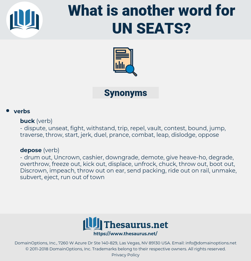 un seats, synonym un seats, another word for un seats, words like un seats, thesaurus un seats