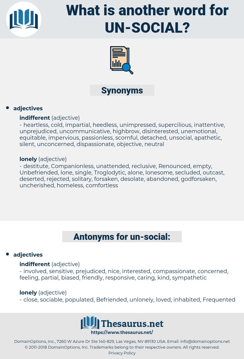 un-social, synonym un-social, another word for un-social, words like un-social, thesaurus un-social