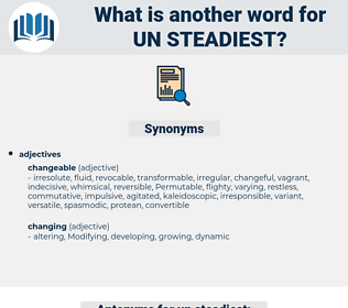 un steadiest, synonym un steadiest, another word for un steadiest, words like un steadiest, thesaurus un steadiest