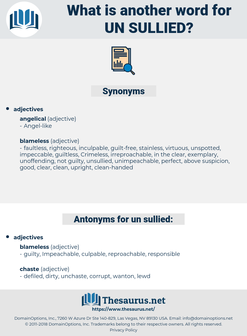 un-sullied, synonym un-sullied, another word for un-sullied, words like un-sullied, thesaurus un-sullied