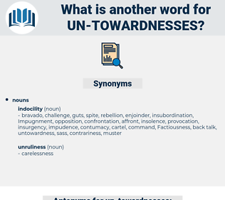 un towardnesses, synonym un towardnesses, another word for un towardnesses, words like un towardnesses, thesaurus un towardnesses