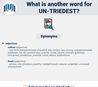 un triedest, synonym un triedest, another word for un triedest, words like un triedest, thesaurus un triedest