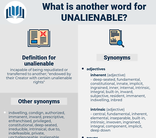 unalienable, synonym unalienable, another word for unalienable, words like unalienable, thesaurus unalienable