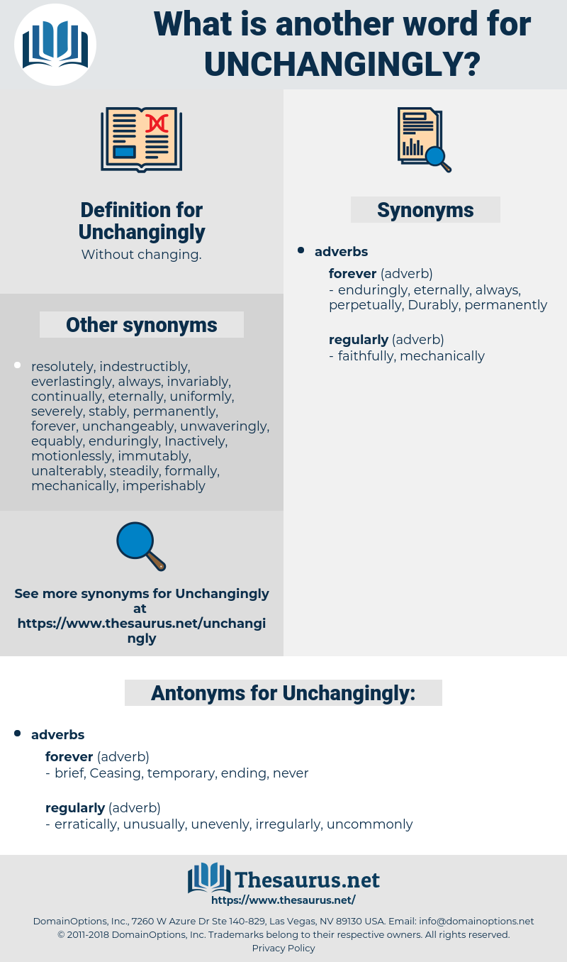 Unchangingly, synonym Unchangingly, another word for Unchangingly, words like Unchangingly, thesaurus Unchangingly