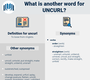 uncurl, synonym uncurl, another word for uncurl, words like uncurl, thesaurus uncurl