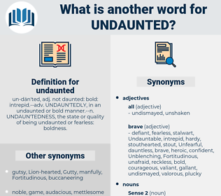 undaunted, synonym undaunted, another word for undaunted, words like undaunted, thesaurus undaunted