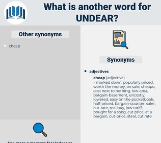 undear, synonym undear, another word for undear, words like undear, thesaurus undear