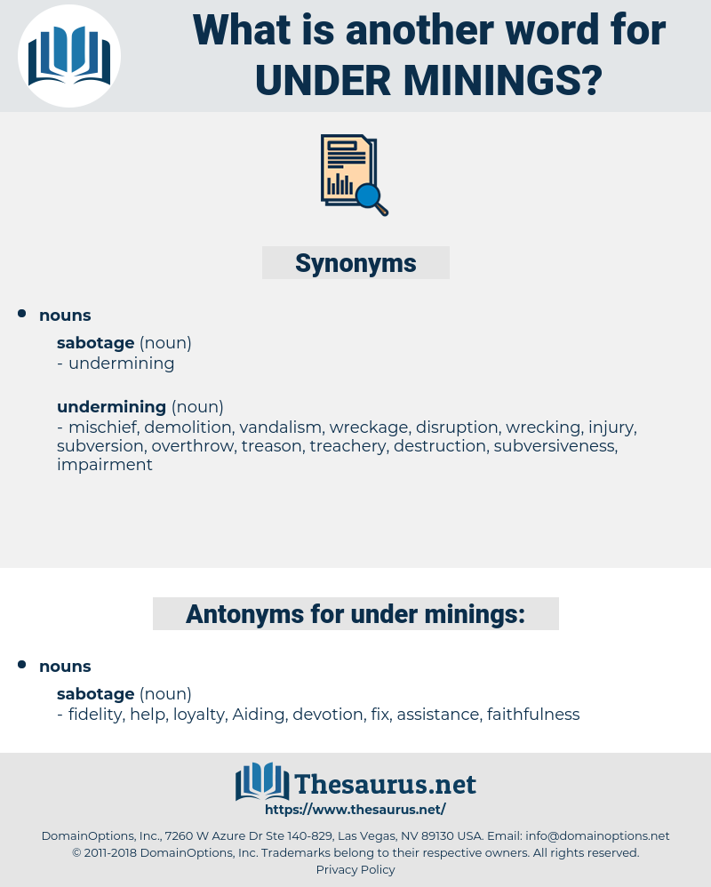 under minings, synonym under minings, another word for under minings, words like under minings, thesaurus under minings