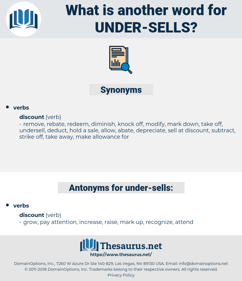 under-sells, synonym under-sells, another word for under-sells, words like under-sells, thesaurus under-sells