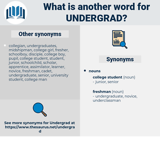 undergrad, synonym undergrad, another word for undergrad, words like undergrad, thesaurus undergrad