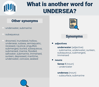 undersea, synonym undersea, another word for undersea, words like undersea, thesaurus undersea