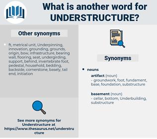 understructure, synonym understructure, another word for understructure, words like understructure, thesaurus understructure