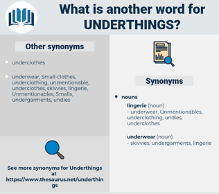 underthings, synonym underthings, another word for underthings, words like underthings, thesaurus underthings
