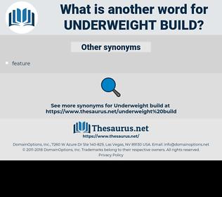 underweight build, synonym underweight build, another word for underweight build, words like underweight build, thesaurus underweight build