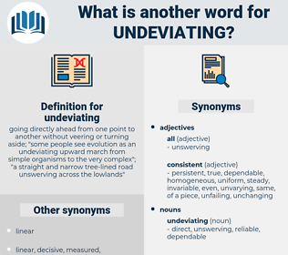 undeviating, synonym undeviating, another word for undeviating, words like undeviating, thesaurus undeviating