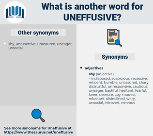 uneffusive, synonym uneffusive, another word for uneffusive, words like uneffusive, thesaurus uneffusive