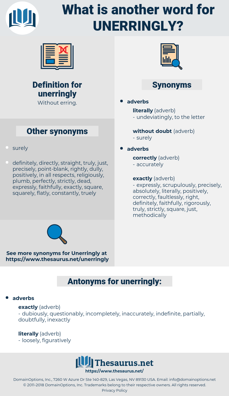 unerringly, synonym unerringly, another word for unerringly, words like unerringly, thesaurus unerringly