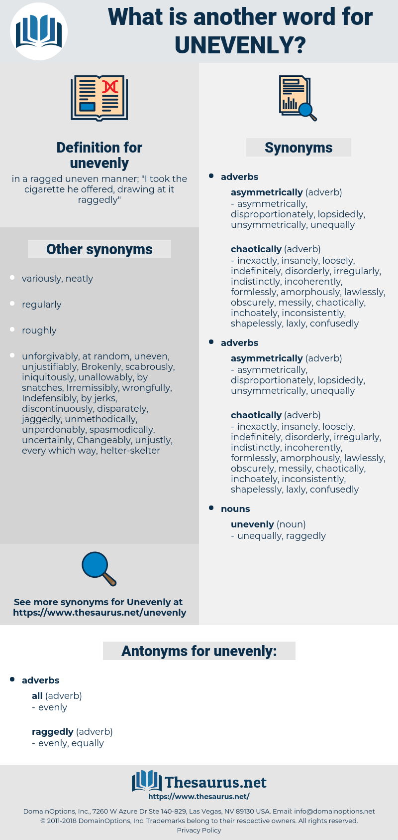 unevenly, synonym unevenly, another word for unevenly, words like unevenly, thesaurus unevenly
