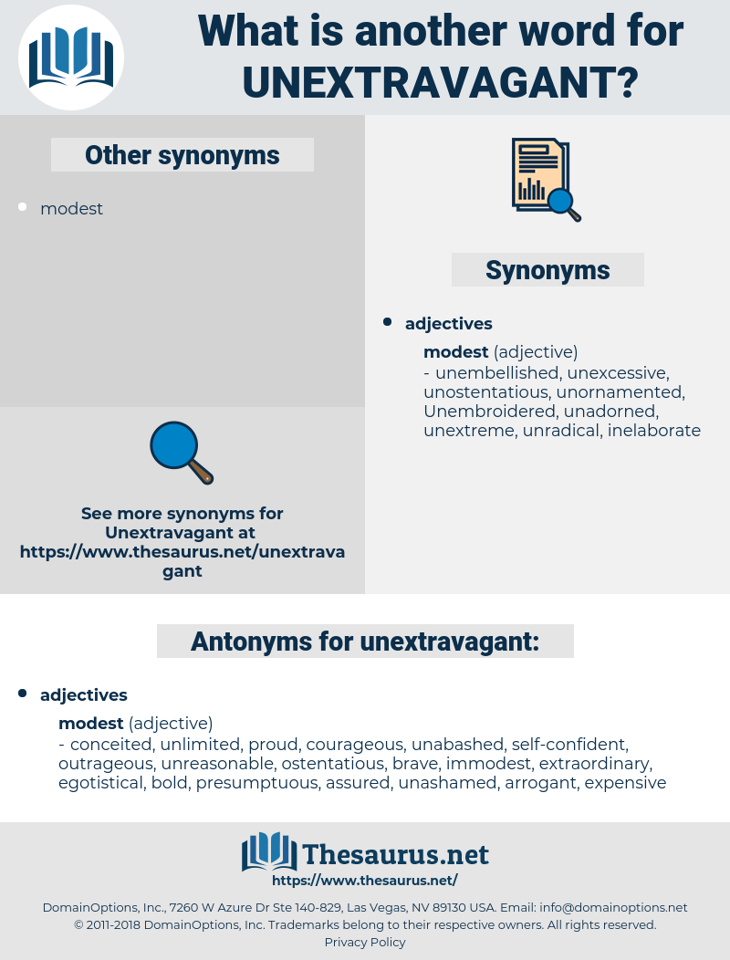 unextravagant, synonym unextravagant, another word for unextravagant, words like unextravagant, thesaurus unextravagant