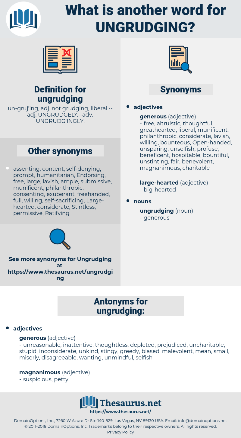 ungrudging, synonym ungrudging, another word for ungrudging, words like ungrudging, thesaurus ungrudging