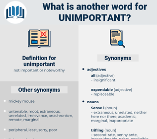 unimportant, synonym unimportant, another word for unimportant, words like unimportant, thesaurus unimportant