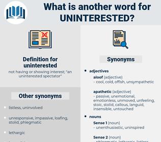 uninterested, synonym uninterested, another word for uninterested, words like uninterested, thesaurus uninterested