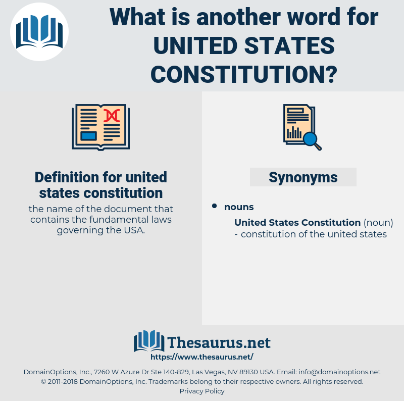 united states constitution, synonym united states constitution, another word for united states constitution, words like united states constitution, thesaurus united states constitution