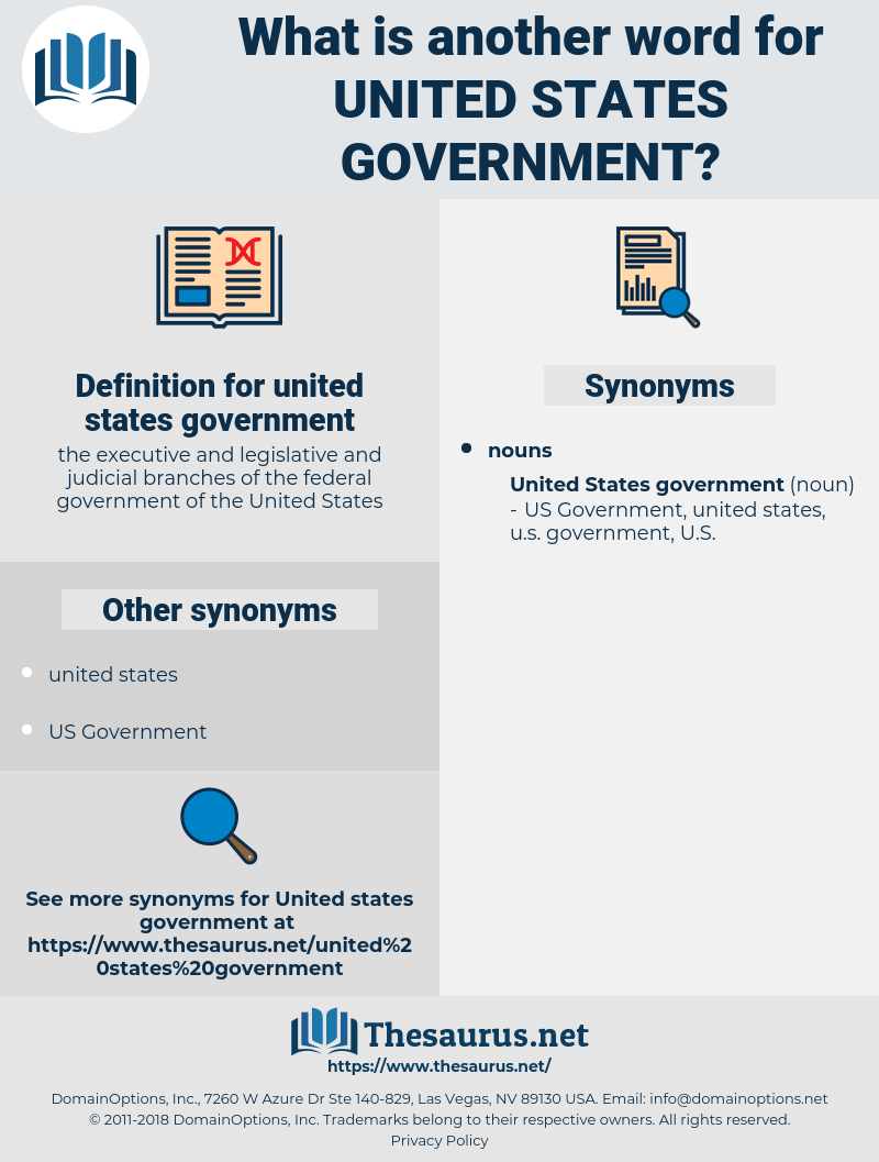 united states government, synonym united states government, another word for united states government, words like united states government, thesaurus united states government