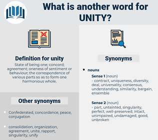 unity, synonym unity, another word for unity, words like unity, thesaurus unity