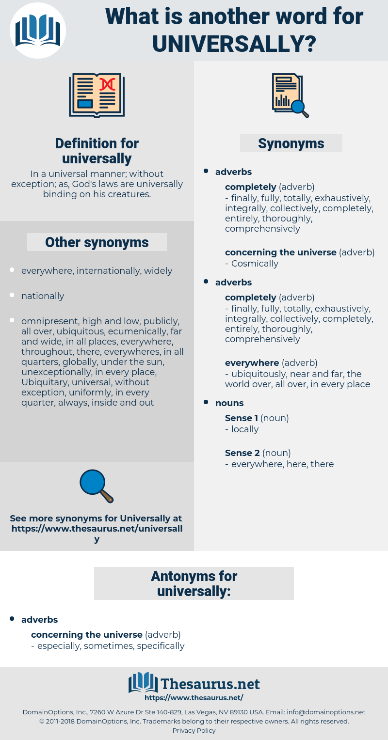 universally, synonym universally, another word for universally, words like universally, thesaurus universally