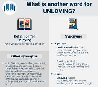 unloving, synonym unloving, another word for unloving, words like unloving, thesaurus unloving