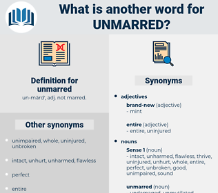 unmarred, synonym unmarred, another word for unmarred, words like unmarred, thesaurus unmarred