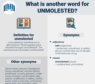 unmolested, synonym unmolested, another word for unmolested, words like unmolested, thesaurus unmolested
