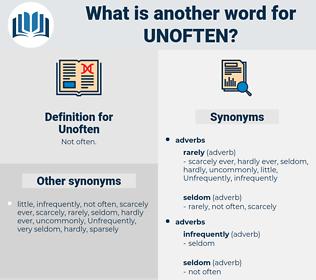 Unoften, synonym Unoften, another word for Unoften, words like Unoften, thesaurus Unoften