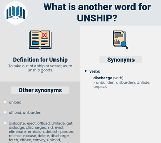 Unship, synonym Unship, another word for Unship, words like Unship, thesaurus Unship