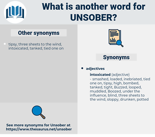 unsober, synonym unsober, another word for unsober, words like unsober, thesaurus unsober