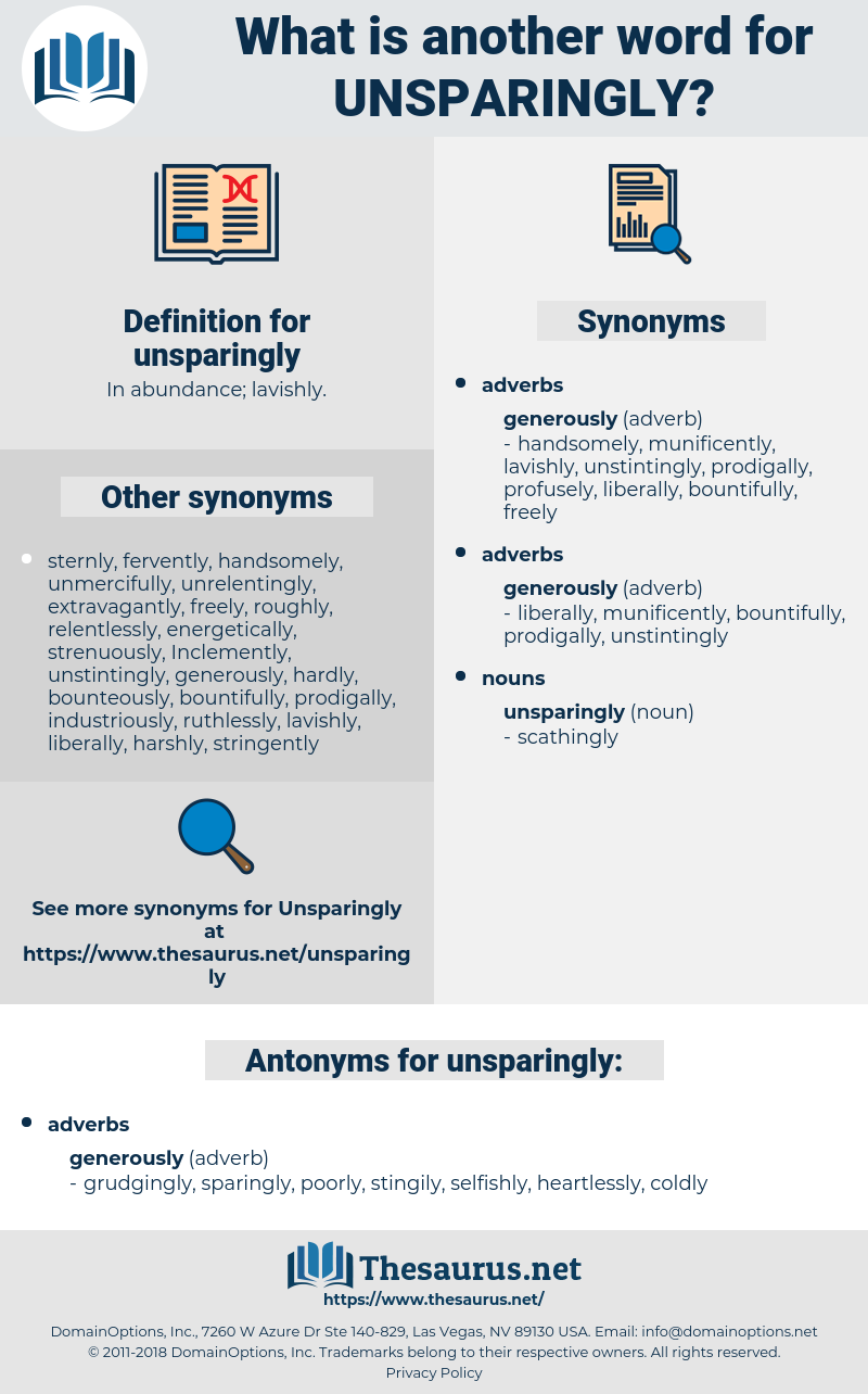 unsparingly, synonym unsparingly, another word for unsparingly, words like unsparingly, thesaurus unsparingly